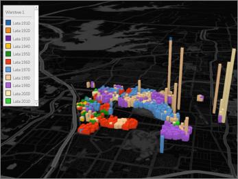 Dodatek Power Map z motywem Koloruj na czarno