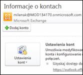 Dodawanie nowego konta e-mail do programu Outlook 2010