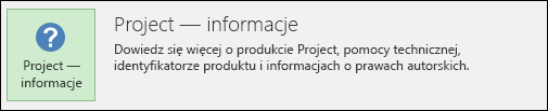 Project — informacje