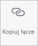 Przycisk Kopiuj link w usłudze OneDrive dla systemu Android