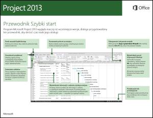 Przewodnik Szybki start dla programu Project 2013