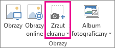 Duży przycisk zrzut ekranu