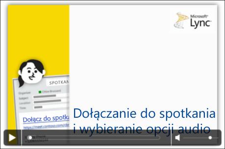 Zrzut ekranu: slajd programu PowerPoint z kontrolkami wideo