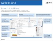 Przewodnik Szybki start dla programu Outlook 2013