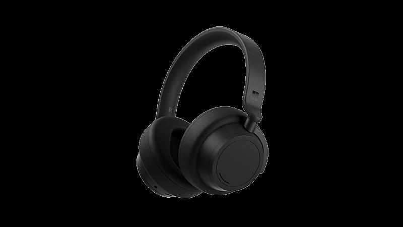 Zdjęcie przedstawiające urządzenie obsługujące słuchawki Surface Headphones 2