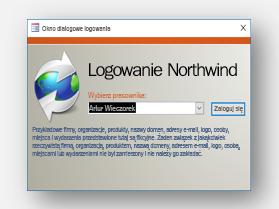 Pobieranie szablonu Northwind
