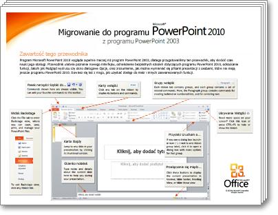 Miniatura przewodnika po migracji do programu PowerPoint