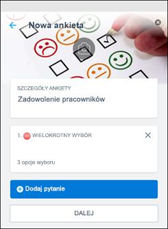 Ankieta aplikacji kaizala
