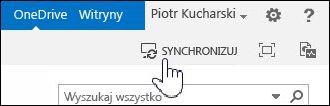 Synchronizowanie usługi OneDrive dla Firm w programie SharePoint 2013