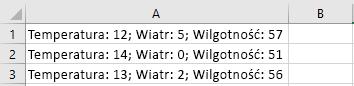 Komórki w programie Excel