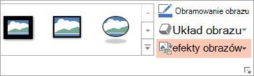 Przycisk układ obrazów na karcie Formatowanie