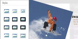 Style obrazów w aplikacji PowerPoint dla systemu Android