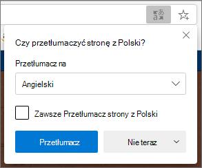 Potwierdzanie panelu tłumaczenia
