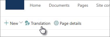 Przycisk Tłumaczenie