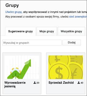 Lista grup