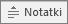 Przycisk Notatki w programie PowerPoint