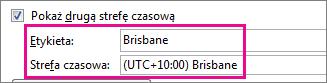 Strefa czasowa Brisbane