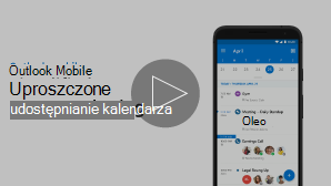 Miniatura obrazu klipu wideo dla udostępnienia kalendarza