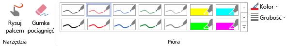 Narzędzia do rysowania w programie Visio Pro dla Office 365