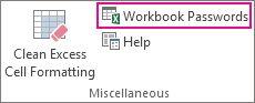 Polecenie Workbook Passwords (Hasła skoroszytu)