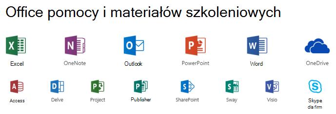 Opcje pomocy technicznej dla pakietu Microsoft Office