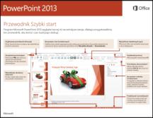 Przewodnik Szybki start dla programu PowerPoint 2013