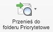 Przycisk Przenieś do folderu Priorytetowe
