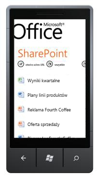 Program SharePoint Workspace Mobile 2010