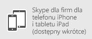 Skype dla firm — iOS