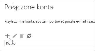 Zrzut ekranu przedstawiający przycisk Nowy.