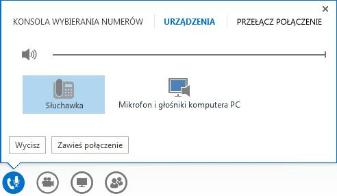 Zrzut ekranu: opcje audio