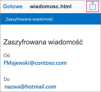 OME Viewer z usługą Gmail 2
