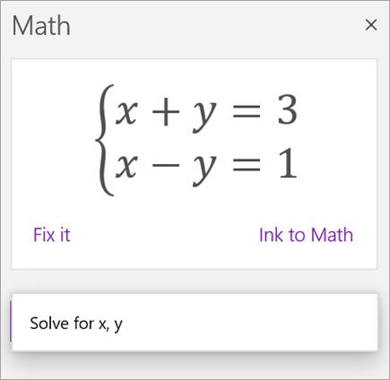 Równanie systemów zapisane z nawiasami