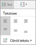 Wyrównanie tekstu w tabeli android