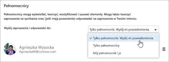 """Zrzut ekranu przedstawiający okno dialogowe """"Udostępnij ten kalendarz""""."""