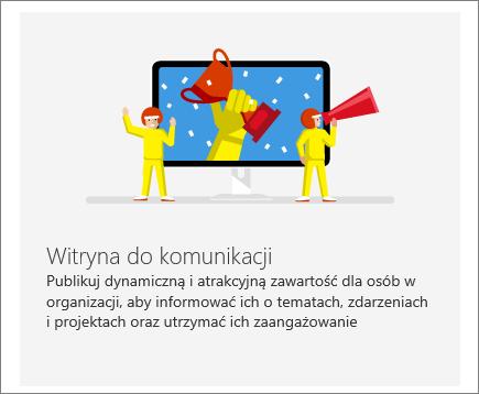Witryna do komunikacji programu SharePoint Office 365