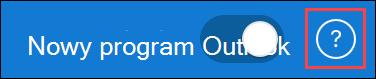 Zrzut ekranu z wyróżnioną ikoną pomocy dotyczącej aktywnej pomocy technicznej