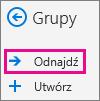 Poznawanie przycisk w okienku nawigacji w programie Outlook w sieci web