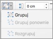 Grupowanie obiektów