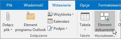 Nowa poczta e-mail w programie Outlook
