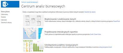 Strona główna witryny Centrum analiz biznesowych