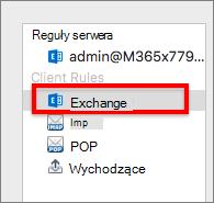 Reguły klienta programu Exchange