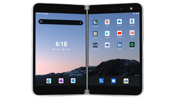 Renderowanie urządzenie Surface Duo