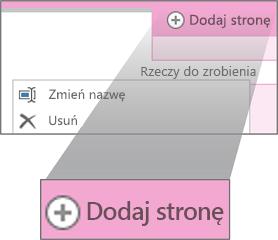 Zmienianie nazwy strony