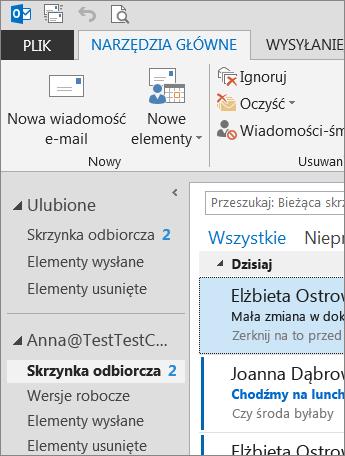Motyw pakietu Office o nazwie Ciemnoszary
