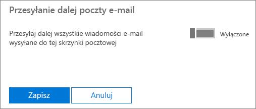 Zrzut ekranu przedstawiający stronę profilu użytkownika Lidia Nowakowska z zastosowaną funkcją przesyłania dalej poczty e-mail i dostępną opcją edycji.