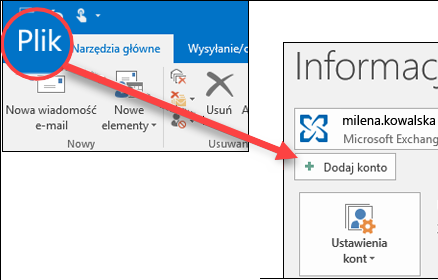 b3e4428f83970d Dodawanie konta usługi Outlook.com w programie Outlook dla systemu ...