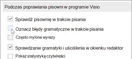 Sprawdzanie gramatyki