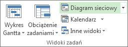 Obraz przycisku Diagram sieciowy na karcie Widok.