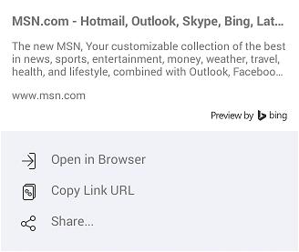 Sposoby otwarcia portalu MSN.com